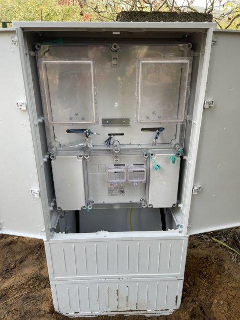 új mérőszekrény eon, új rendszerengedélyes mérőhely